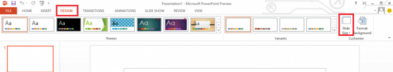 Powerpoint 4:3 und Widescreen